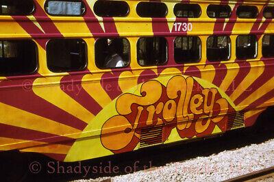 Pittsburgh PAT Electric PCC Streetcar #1730 Original Slide