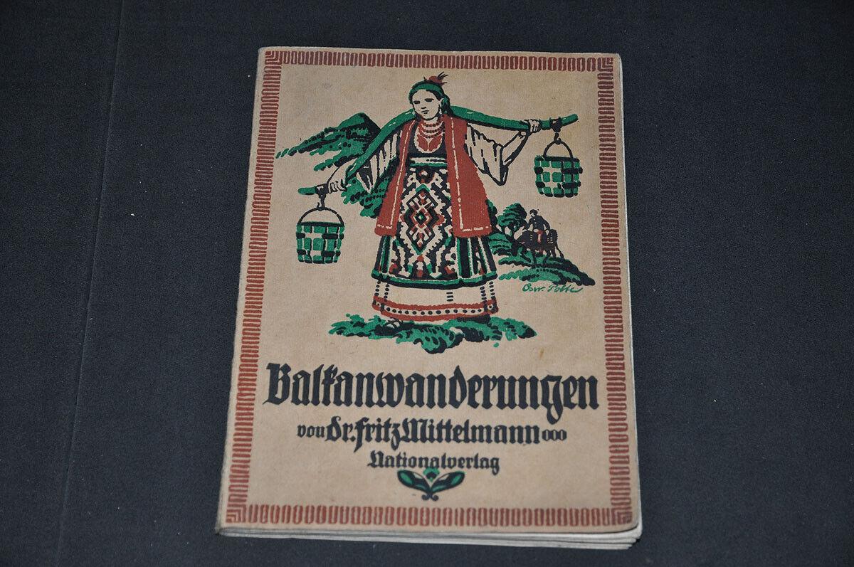 1920 Reise Balkan Wanderungen Siebenbürgen Transsilvanien Bulgarien Rumänien