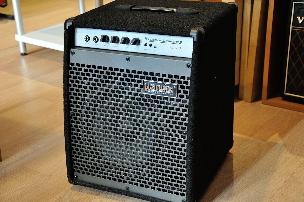 Warwick BC 40 amplificatore combo per Chitarra Basso Elettrico da 40 watt