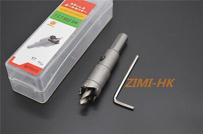 2 17mm Carbide Tip Tct Drill Bit Hole Saw Stainless Steel Metal Alloy Wood 17