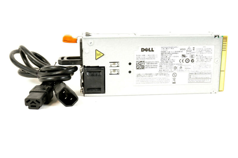 Dell 1400W 200-277V Server Power Supply PSU w/ HS26 to C14 Cable