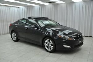 2013 Kia Optima EX T-GDi SEDAN w/ BLUETOOTH, HEATED LEATHER, DUA