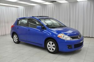 2010 Nissan Versa 1.8SL 5DR HATCH w/ BLUETOOTH, A/C, SUNROOF & 1