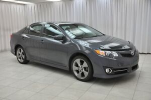 2012 Toyota Camry SE V6 SEDAN w/ BLUETOOTH, HEATED SEATS, NAVIGA