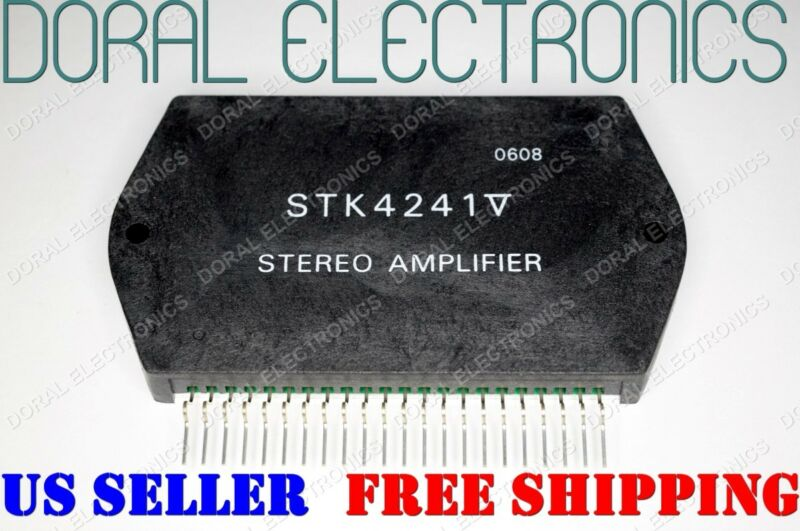 STK4241V Free Shipping US SELLER Integrated Circuit IC STEREO AMPLIFIER