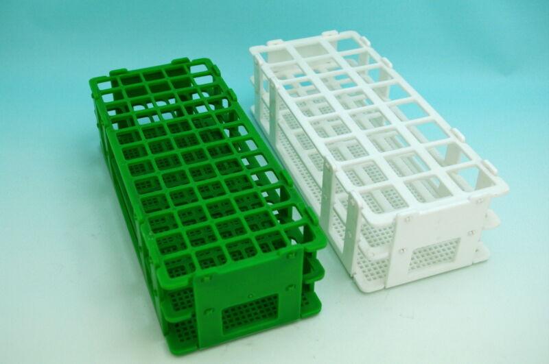 one lab Plastic test tube rack 40 tubes Φ20mm (white)new