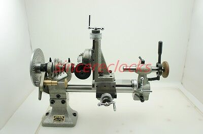 Watchmaker Precision Lathe with Index Plates