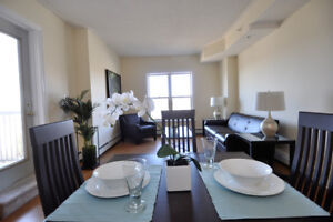 Lux 1 Bed with Laminate, In-suite Laundry & Underground Parking!