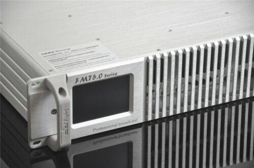 HLLY WARNER FMT5.0 PROFESSIONAL 300W 350Watt Touch LCD FM Transmitter PLL Stereo
