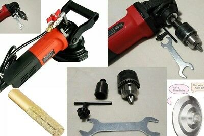 Wet Polisher Electric Drill Screwdriver Diamond Finger Bit Marble Wood Stone