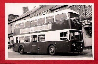 Bus Photo ~ Tyneside 55: ENL355C - 1965 Alexander Atlantean - Newcastle Service