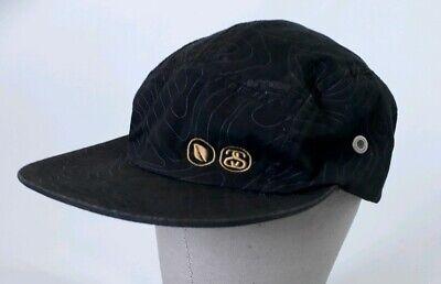 77ddc753ca7 Stussy Capz Men s Black Strapback Hat Cap