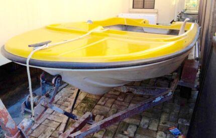 Ski Boat, 12ft boat, project boat, race boat,