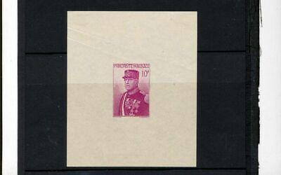 MONACO 1938 National Day Sheet MH (Kul 932)