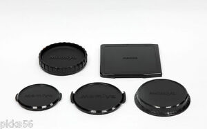 Mamiya 645 AFD / AF / DF (FRONT BODY CAP) (REAR BODY CAP) (FRONT/REAR LENS CAP)