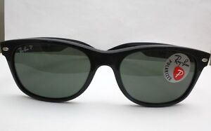 New-Ray-Ban-New-Wayfarer-Polarized-Sunglasses-RB2132-901-58-55-175