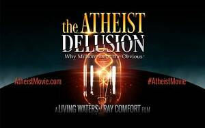 DVD The Atheist Delusion by Ray Comfort Free Living Waters Martin Gosnells Area Preview