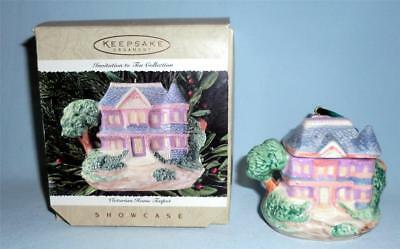 Hallmark 1995 Victorian Home Teapot Invitation to Tea Collection Showcase - Teapot Invitations