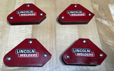 4-pcs Welders Magnets Lincoln Arc Welder Sa 200 250 Sae 300 400 Pipeliner
