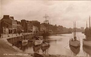 Douglas Harbour Isle of Man IOM unused RP pc Judges 8778