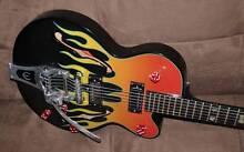 Epiphone FlameKat Limited Edition Electric Guitar - Black Dot Armidale Armidale City Preview