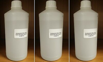 Eco Sol Cleaning Solution Roland Mimaki Mutoh Epson Dx4 Dx5 Dx7 3000 Ml
