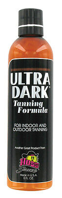 1 Bottles of Ultra Dark Tanning Lotion by  Hoss Sauce 8oz -