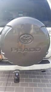 Swap - Toyota Land Cruiser Prado - Back tyre cover Blacktown Blacktown Area Preview