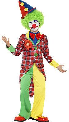Mädchen Freddy Kostüm (Freddy Der Clown Kinderkostüm NEU - Mädchen Karneval Fasching Verkleidung Kostüm)