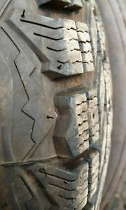 Winterforce tires x 4 P205/75R14 almost new