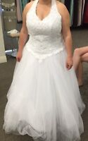 size 20W wedding dress