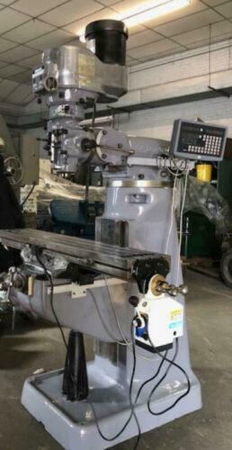 RECONDITION BRIDGEPORT MILLING MACHINE VARI SPEED