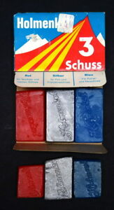 Imported cross-country ski wax for all temps & snow conditions