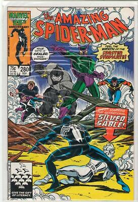 Amazing Spiderman #280 Beetle Rhino Speed Demon Hydroman Silver Sable 7.0