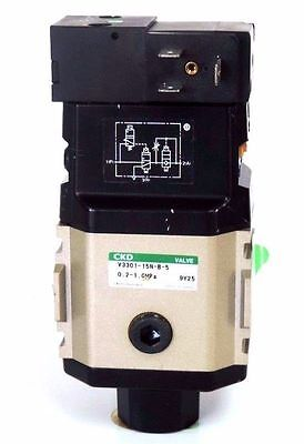 New Ckd V3301-15n-b-5 Slow Start Solenoid Valve V330115nb5