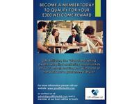 Become A Member Today & Receive A £300 Welcome Reward