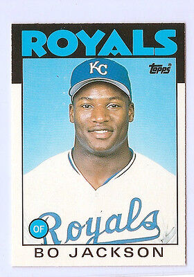 1986 TOPPS XRC TRADED #50T BO JACKSON Rookie  RC MINT LOT OF 10