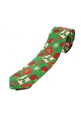 Weihnachten Theme Muster Krawatten Solid Satin Weihnachten Kostüm Party - Weihnachts Themen Kostüm Party