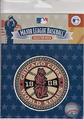 Chicago Cubs 1908 World Series Champions MLB Licensed Collector Patch