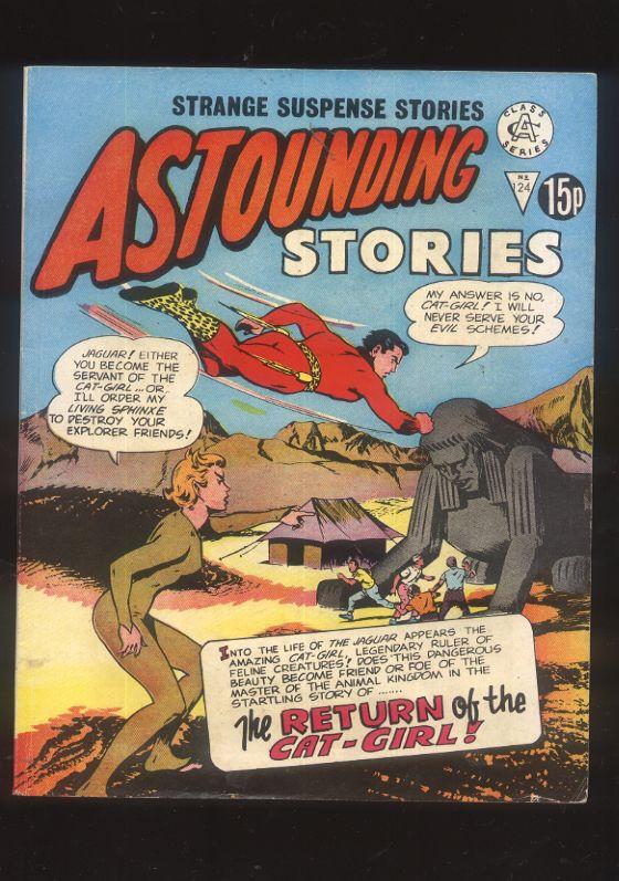 Astounding Stories 124 Strange Suspense Stories British Comic 60s reprint CBX13A