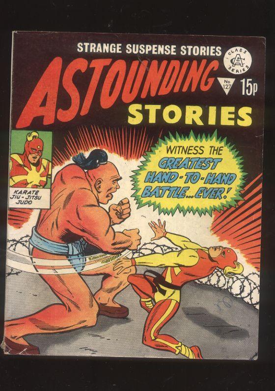 Astounding stories 127 Strange Suspense Stories British Comic 60s reprint CBX13A