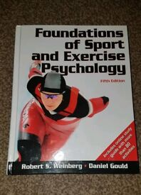 Hardback Copy of Foundations of Sport and Exercise Psychology