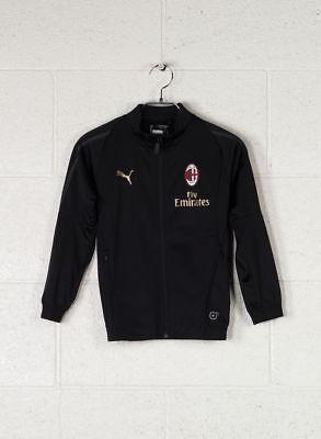Puma Suit Jacket Ac Milan Boy - Blk - 176 (4059507779113)