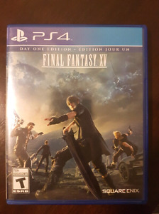Final Fantasy XV for PS4 - Mint Condition