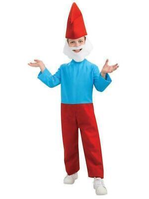Child Papa Smurf Costume, The Lost Village, Medium, - Smurf Halloween Kostüme