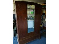 L@@K NEEDS TO GO!! Historic Post war Gentlemen's Dresser/Wardrobe