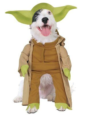 Yoda Dog LARGE Costume Star Wars Pet Halloween Fancy Dress Up K-9 - Yoda Dress Up