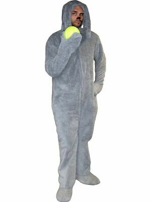 Costumes With Dogs (The REAL Wilfred the Dog Costume with Tail - Correct Gray Color -)