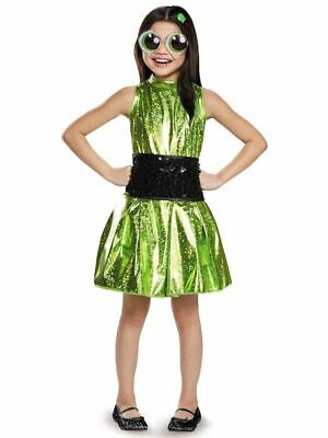 The Powerpuff Girls Costumes (New Disguise The Powerpuff Girls Buttercup Costume Large)