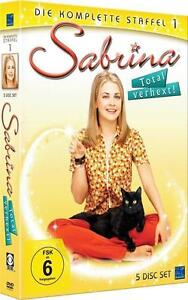 *Top DVD-Box Sabrina total verhext  Staffel 1 NEU-OVP (5 Disc Set) super*